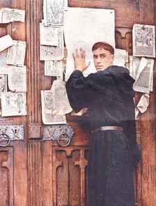 what were the 95 theses yahoo Looking for 95 theses find out information about 95 theses martin luther presented his theses at wittenberg see: turning point explanation of 95 theses.