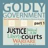 Godly Government Audio Lectures   From our friends at Mission to Restore America. Listen to Mission to Restore America's Godly Government lectures below. 5 part series.